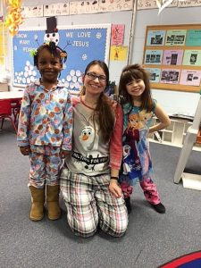 PJ Day with Ms Gina